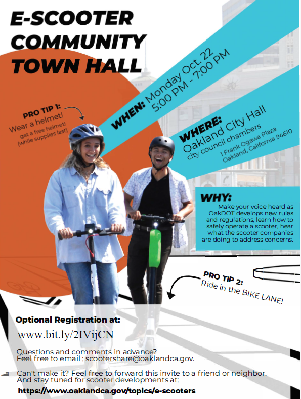 E-Scooter Town Hall